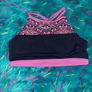Justice Bathing Suit Top
